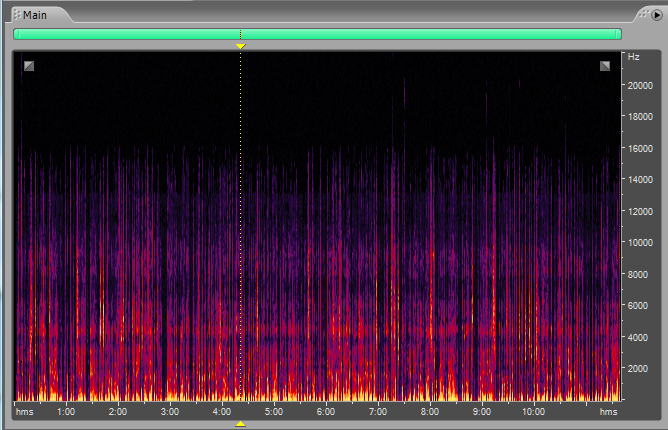 Frequency Spectrum Analysis Adobe Audition Clicks Pops and Smacks Recording 3