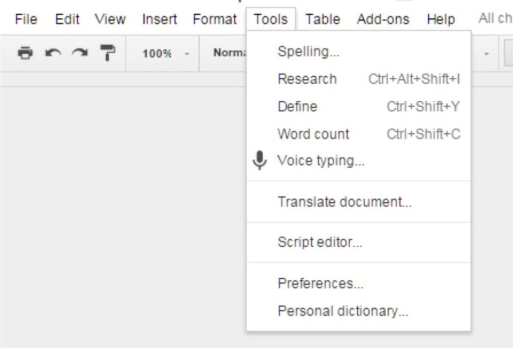 google docs voice to text recorder transcribe your own podcasts in real time