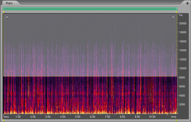Frequency Spectrum Analysis Adobe Audition Clicks Pops and Smacks Recording 4