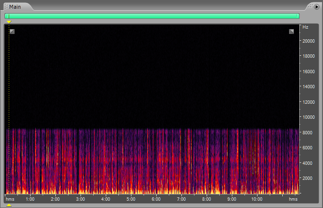 Frequency Spectrum Analysis Adobe Audition Clicks Pops and Smacks Recording 5